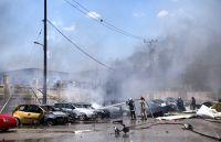Ασπρόπυργος: Διαλύθηκαν 15 αυτοκίνητα από την έκρηξη βυτιοφόρου με προπάνιο