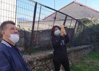 Κοντά στους κατοίκους των χωριών ο αντιδήμαρχος Γιώργος Παπανικολάου – Κατέγραψε τις ζημιές του σεισμού